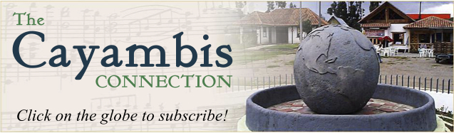 Cayambis Connection Sign Up Button